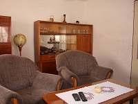 Obývací pokoj - pronájem chalupy Karolinka - Stanovnice