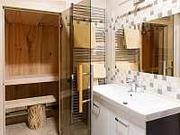 Finská sauna - chata k pronajmutí Nový Hrozenkov