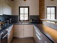 Moderní kuchyň - pronájem chaty Nový Hrozenkov