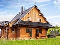 pohled od vířivky - chata k pronájmu Nový Hrozenkov