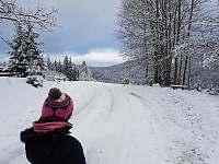 Procházka na Kohutku - chata k pronájmu Nový Hrozenkov