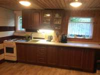 kuchyň - chalupa ubytování Ratiboř u Vsetína