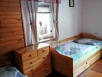 ložnice - pronájem chalupy Ratiboř u Vsetína