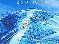 Ski Troják 7km - chalupa k pronajmutí Ratiboř u Vsetína