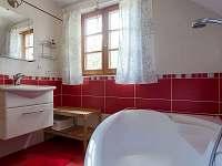 Koupelna v patře - Horní Bečva