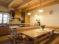 Kuchyně - chalupa ubytování Horní Bečva