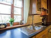 Kuchyňská linka - chalupa k pronájmu Horní Bečva