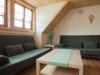 Obývací pokoj - pronájem chalupy Horní Bečva
