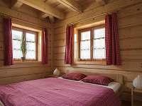 Pokoj č.1 dvoulůžkový- přízemí - chalupa k pronajmutí Horní Bečva