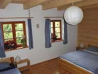 Pokoj č.2 čtyřlůžkový- přízemí - chalupa ubytování Horní Bečva