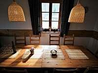kuchyň - chalupa ubytování Trojanovice