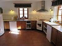 kuchyň - chalupa k pronajmutí Trojanovice