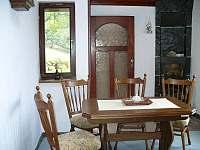 Krbová místnost - chata ubytování Bystřice