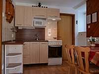 Kuchyň přízemí - pronájem chaty Bystřice