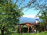Pergola - chata ubytování Bystřice