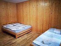 ložnice - chalupa k pronajmutí Velké Karlovice