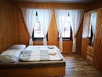 ložnice - chalupa ubytování Velké Karlovice