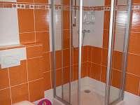 Přízemí - koupelna se sprchovým koutem, WC - chata k pronájmu Velké Karlovice