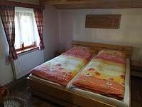 ložnice - chata k pronajmutí Horní Bečva