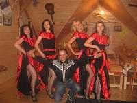 Pedro and Bandidas ve spol.místnosti, 2014 - pronájem chalupy Ostravice