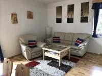 Obývací část - apartmán ubytování Velké Karlovice