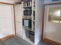 Kuchyň - roubenka ubytování Nový Hrozenkov