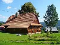 Dřevěnice v létě - chalupa k pronájmu Horní Bečva