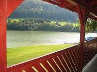 Výhled z venkovní terasy