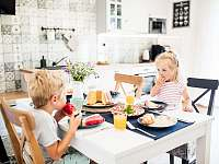 Malý apartmán jídelna - Bukovec