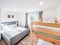Malý apartmán- ložnice pro 4 osoby - chalupa k pronajmutí Bukovec
