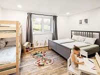 Malý apartmán- ložnice pro 4 osoby s koutkem - Bukovec