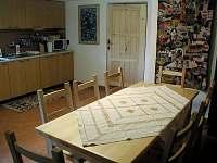 Kuchyň chalupa 2 - ubytování Morávka