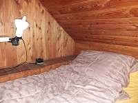 spaní v obýváku - chalupa ubytování Vigantice