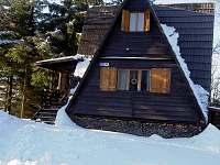 Chata v zimě - k pronajmutí Kohútka - Portáš