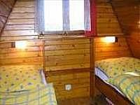 Ložnice se dvěma postelemi - chata ubytování Kohútka - Portáš