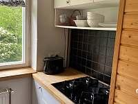 Kuchyně - chata k pronajmutí Ostravice