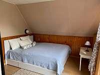 Ložnice 2 s dvojlůžkem - chata k pronájmu Ostravice