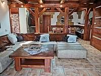 Obývací pokoj. - Staré Hamry