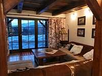 Pohled na Lysou horu z obývacího pokoje . - Staré Hamry