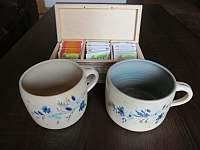 Kvalitní káva a čaj k dispozici - Velké Karlovice