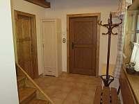 vstupní chodba - apartmán k pronájmu Velké Karlovice