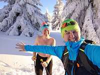 Šťastní hosté na běžkách - Nový Hrozenkov - Vranča