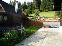 Dětské hřiště zdola - Velké Karlovice