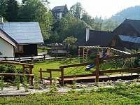 Pohled do údolí od ohniště - Velké Karlovice
