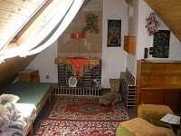 ubytování Velké Karlovice - podkroví