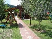 ubytování Velké Karlovice - zahrada