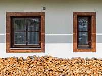 Pohled ze zahrady - ubytování Velké Karlovice