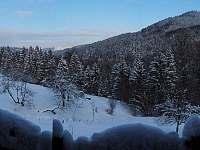 Vyhled zima - chata k pronájmu Zděchov