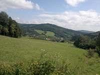 krajina nad vesnicí