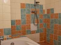 Koupelna - pronájem chalupy Karolinka